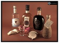 Sardinian liqueurs and distilllates