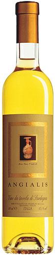 Argiolas Angialis sweet white wine 2005