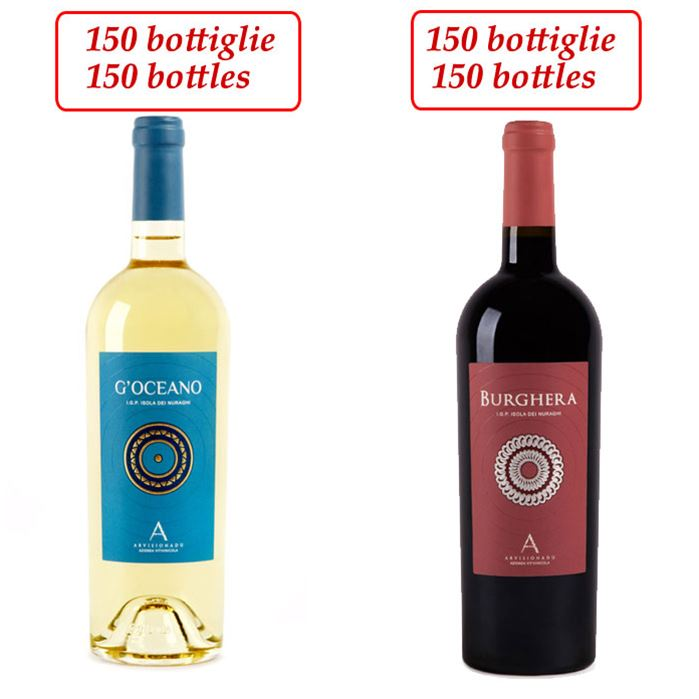 stock red and white wines