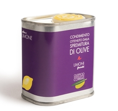 Seasoning obtained by pressing olives and fresh lemons Can 17,5 cl